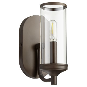 Collins Oiled Bronze 15-Inch One-Light Wall Mount