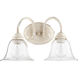 Spencer Persian White Two-Light Vanity