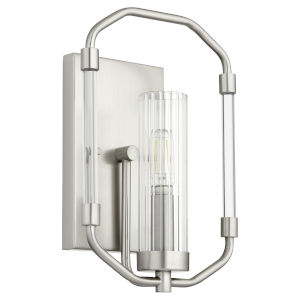 Citadel Satin Nickel Eight-Inch One-Light Wall Mount