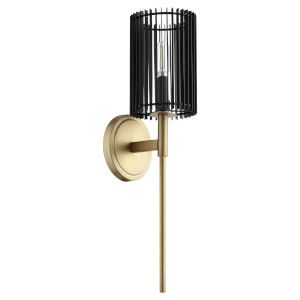 Finura Aged Brass One-Light Wall Sconce