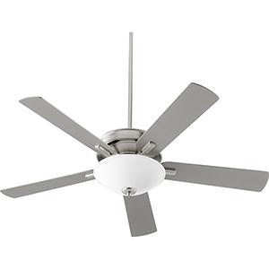 Premier Satin Nickel One-Light LED Ceiling Fan
