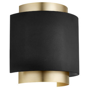 Noir Aged Brass 11-Inch One-Light Wall Sconce