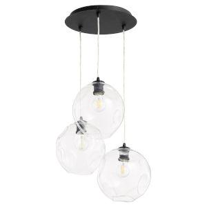 Numen Noir Three-Light Pendant