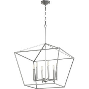 Gabriel Classic Nickel Six-Light Pendant