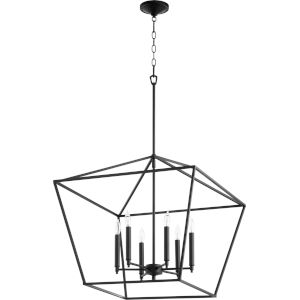 Gabriel Noir Six-Light Pendant