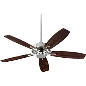 SOHO Polished Nickel Ceiling Fan