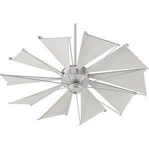 Mykonos Satin Nickel 52-Inch Ceiling Fan