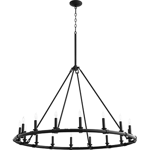 Ronda Black 16-Light Chandelier