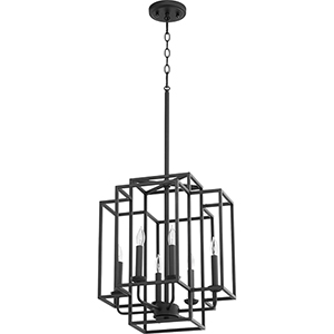 Torres Black Six-Light Pendant