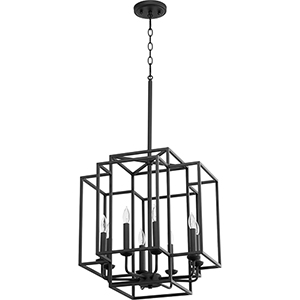 Torres Black Eight-Light Pendant