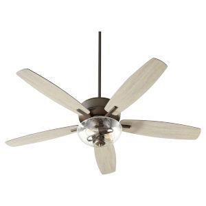 Breeze Oil Bronze Two-Light 52-Inch Ceiling Fan