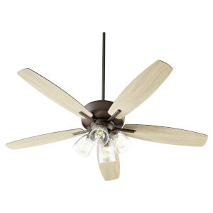 Breeze Oil Bronze Four-Light 52-Inch Ceiling Fan