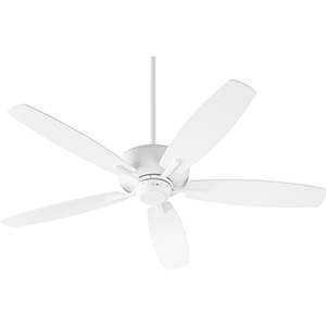 Breeze Studio White Ceiling Fan