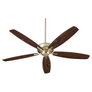 Breeze 60-Inch Aged Brass Ceiling Fan