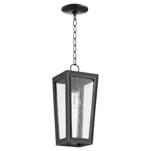 Bravo Noir One-Light Outdoor Pendant