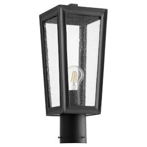 Bravo Noir One-Light Outdoor Post Mount