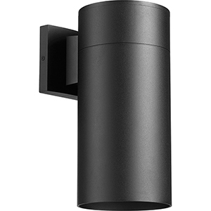 Cylinder Black Six-Inch One-Light Wall Sconce