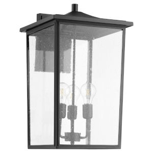 Riverside Noir Three-Light 13-Inch Outdoor Wall Mount