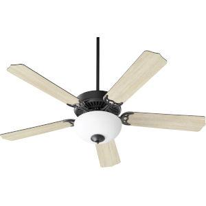 Capri VIII Midnight Bronze 52-Inch Two-Light LED Ceiling Fan