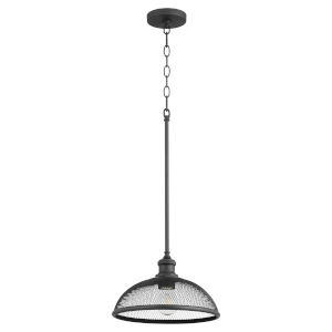 Omni Black 12-Inch One-Light Pendant
