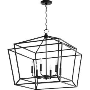 Monument Noir Six-Light Pendant