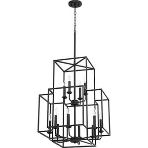 Torres Black 12-Light Pendant