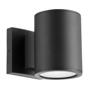 Cylinder Noir Two-Light LED Outdoor Wall Mount