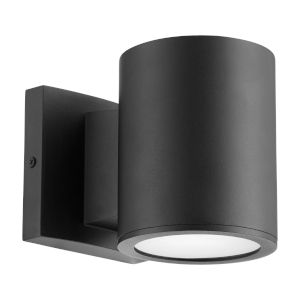 Cylinder Noir LED Outdoor Wall Mount