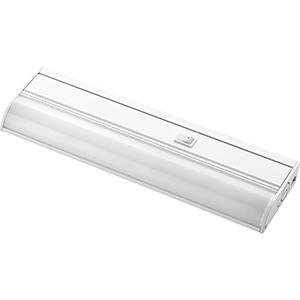 White One-Light LED Under Cabinet
