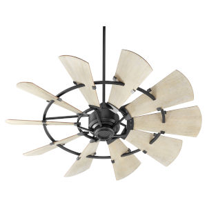 Windmill Noir 52-Inch Ceiling Fan