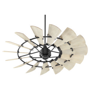 Windmill Noir 60-Inch Ceiling Fan