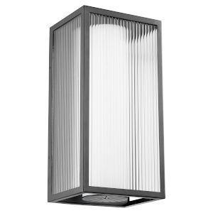 Maestro Noir Three-Light LED 12-Inch Outdoor Wall Mount