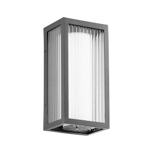 Maestro Noir Three-Light LED 6-Inch Outdoor Wall Mount
