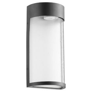 Fontaine Noir LED 7-Inch Outdoor Wall Mount