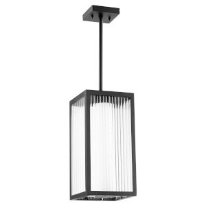 Maestro Noir Three-Light LED Outdoor Pendant