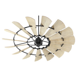 Windmill Noir 72-Inch Ceiling Fan