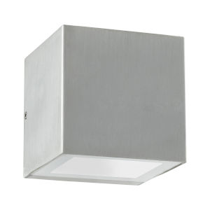 Ion Brushed Aluminum LED Outdoor Wall Mount