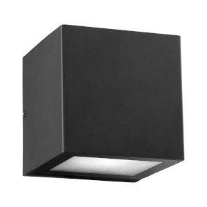 Ion Noir Two-Light LED Outdoor Wall Mount