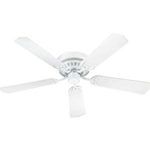 Custom Hugger White 42-Inch Ceiling Fan