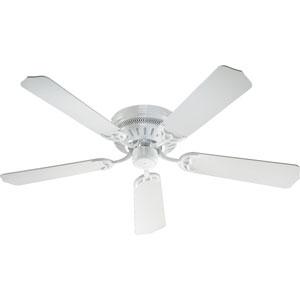 Custom Hugger White 52-Inch Ceiling Fan