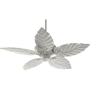 Monaco Studio White 52-Inch Patio Fan