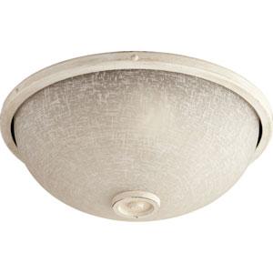 Marsden Persian White Two-Light 14-Inch Ceiling Fan Light Kit