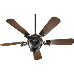 Westbrook Three-Light Baltic Granite 52-Inch Patio Fan