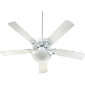 Estate Two-Light White 52-Inch Patio Fan