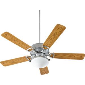Estate Patio Galvanized 19.17-Inch Two Light Patio Fan
