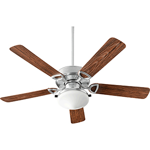 Estate Patio Galvanized Two-Light 52-Inch Patio Fan