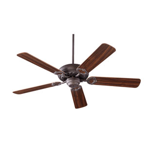 Monticello Toasted Sienna 52-Inch Five Blade Ceiling Fan