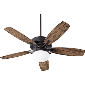 Eden Toasted Sienna LED 52-Inch Patio Fan