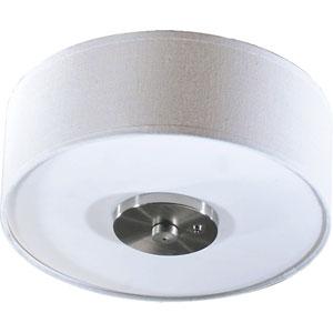 Three-Light Satin Nickel Light Kit