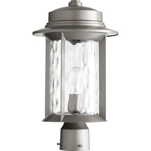 Charter Graphite 9.5-Inch One-Light Outdoor Post Mount